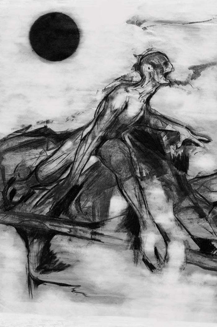 Art of Bangungot from sleep paralysis nightmares